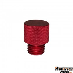 BOUCHON D'HUILE SCOOT ADAPTABLE MBK 50 BOOSTER, STUNT-YAMAHA 50 BWS, SLIDER  -REPLAY ROUGE-