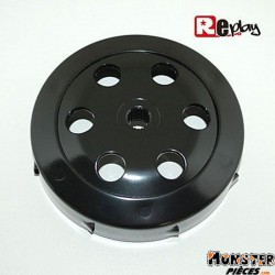 CLOCHE D'EMBRAYAGE SCOOT REPLAY BLACK EDITION POUR MBK 50 BOOSTER, NITRO, OVETTO-YAMAHA 50 BWS, AEROX, NEOS-APRILIA 50 SR-MALAGU