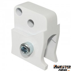 REHAUSSE AMORTISSEUR SCOOT REPLAY POUR PEUGEOT 50 LUDIX BLANC (2 POSITIONS)