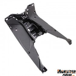 CARENAGE-MARCHE PIED SCOOT ADAPTABLE MBK 50 NITRO 1997>2012-YAMAHA 50 AEROX 1997>2012 NOIR MAT