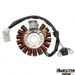 STATOR ALLUMAGE MAXISCOOTER ADAPTABLE YAMAHA 125 MAJESTY 1998>2009-MBK 125 SKYLINER 1998>2009 (16 POLES)  -P2R-