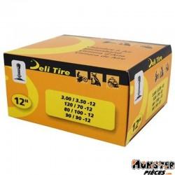 CHAMBRE A AIR 12''  3.00  A  3.50-12 , 80-100-12 , 90-90-12 , 120-70-12 DELI VALVE TR4