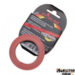 LISERET TUNING MOTIP SOLIDLINE ROUGE 6mm (10M)