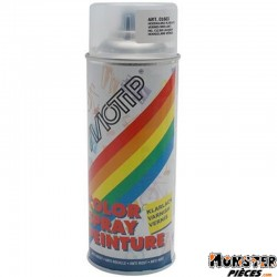 BOMBE DE PEINTURE MOTIP GLYCERO BRILLANT VERNIS spray 400ml (01603)