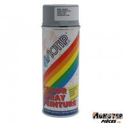 BOMBE DE PEINTURE MOTIP APPRET GLYCERO GRIS spray 400ml (01612)