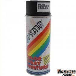 BOMBE DE PEINTURE MOTIP GLYCERO SATIN NOIR PROFOND spray 400ml (01659)