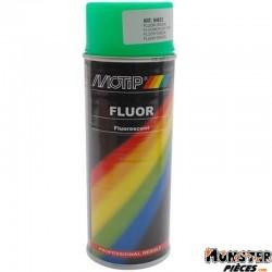 BOMBE DE PEINTURE MOTIP PRO FLUO VERT spray 400ml (04023)