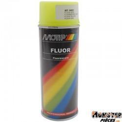 BOMBE DE PEINTURE MOTIP PRO FLUO JAUNE spray 400ml (04022)