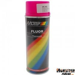 BOMBE DE PEINTURE MOTIP PRO FLUO ROSE spray 400ml (04021)