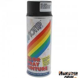 BOMBE DE PEINTURE MOTIP GLYCERO MAT NOIR PROFOND spray 400ml (01601)