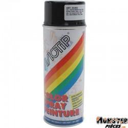 BOMBE DE PEINTURE MOTIP GLYCERO BRILLANT NOIR BRILLANT spray 400ml (01602)