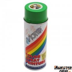 BOMBE DE PEINTURE MOTIP GLYCERO BRILLANT VERT POMME (DERBI) spray 400ml (01607)