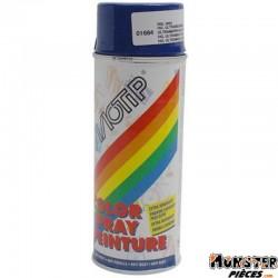 BOMBE DE PEINTURE MOTIP GLYCERO BRILLANT BLEU OUTREMER spray 400ml (01684)
