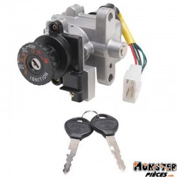 CONTACTEUR A CLE MAXISCOOTER ADAPTABLE KYMCO 125 DRAND DINK 2001>2002  -SELECTION P2R-