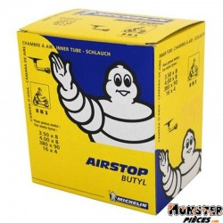 CHAMBRE A AIR  8''   3.50  A  4.00-8 MICHELIN 8B3 VALVE COUDEE 90�