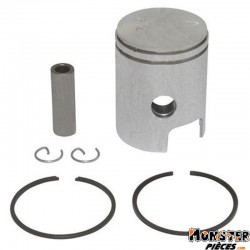 PISTON CYCLO ADAPTABLE PIAGGIO CIAO PX (38,4mm AXE de 10mm)  -SELECTION P2R-