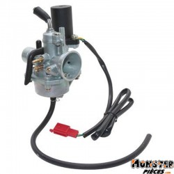 CARBURATEUR SCOOT ADAPTABLE MBK 50 BOOSTER 2004>, NITRO 2004>-YAMAHA 50 BWS 2004>, AEROX 2004> (AVEC STARTER ELECTRIQUE- SANS RE