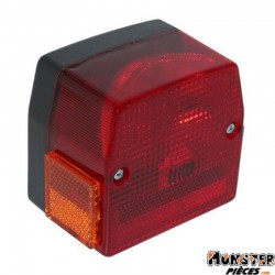 FEU AR CYCLO ADAPTABLE PEUGEOT 103 SPX, RCX-MBK 51S  ROUGE-SELECTION P2R-
