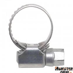 COLLIER DE SERRAGE METAL A CREMAILLERE 10x16 (SACHET DE 10) LARGEUR 9mm