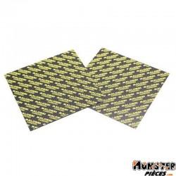 LAMELLE DE CLAPET MALOSSI CARBONE 0,30 FEUILLE 100x100 (x2)