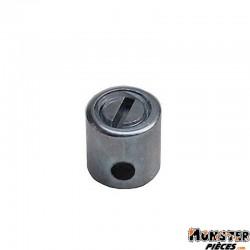 SERRE CABLE DE GAZ CYCLO � 5,5 mm, L 6 mm DKV (BLISTER DE 25) (ALGI 00428000-025)