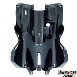 CARENAGE-TABLIER AR SCOOT ADAPTABLE MBK 50 NITRO 1997>2012-YAMAHA 50 AEROX 1997>2012 NOIR BRILLANT