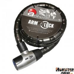 ANTIVOL ARTICULE ARMLOCK 1,50M (� 25mm) AVEC 2 CLES