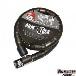 ANTIVOL ARTICULE ARMLOCK 1,00M (� 25mm) AVEC 2 CLES