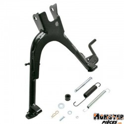 BEQUILLE SCOOT CENTRALE ADAPTABLE MBK 50 OVETTO 2T, MACH G-YAMAHA 50 NEOS 2T, JOG R NOIR  -P2R-