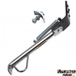 BEQUILLE SCOOT LATERALE ADAPTABLE GILERA 50 STALKER, RUNNER CHROME  -P2R-