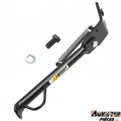 BEQUILLE SCOOT LATERALE ADAPTABLE MBK 50 BOOSTER-YAMAHA 50 BWS NOIR  -IGM-