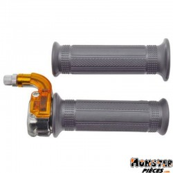 POIGNEE DE GAZ CYCLO REPLAY TARGA MINI METAL CHROME