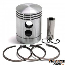 PISTON CYCLO ADAPTABLE SOLEX 3800 (QUALITE SUPERIEURE)  -SELECTION P2R-
