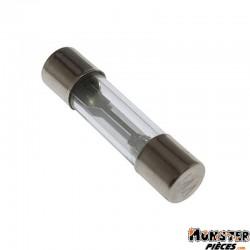 FUSIBLE ROND EN VERRE 15A  6,3x27mm  (SACHET DE 10)