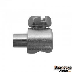 SERRE CABLE DE DECOMPRESSEUR CYCLO DIAM 7mm - L 10,5mm POUR PEUGEOT-MBK (BLISTER DE 25) (ALGI 00422000-025)