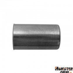 EMBOUT DE GAINE MOTO DIAM EXT 6,8mm - DIAM INT 6mm - L 12mm (BLISTER DE 25) (ALGI 00438000-025)