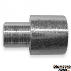 BUTEE DE GAINE MOTO DIAM EXT 9mm - DIAM INT 5,8mm - L 14mm (BLISTER DE 25) (ALGI 00432000-025)