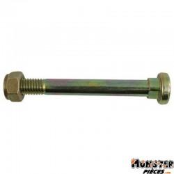 AXE DE BEQUILLE CENTRALE POUR PEUGEOT 103 D 8 x 125 Lg74mm (x1)