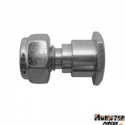 AXE DE BEQUILLE CENTRALE POUR MBK D 8 x 125 Lg20,4mm (x1)