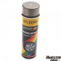 BOMBE DE PEINTURE MOTIP PRO JANTES ACIER spray 500ml (04010)