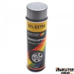 BOMBE DE PEINTURE MOTIP PRO JANTES ARGENT spray 500ml (04007)