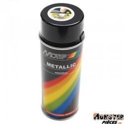 BOMBE DE PEINTURE MOTIP PRO METAL NOIR spray 400ml (04049)