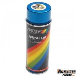 BOMBE DE PEINTURE MOTIP PRO METAL BLEU spray 400ml (04044)