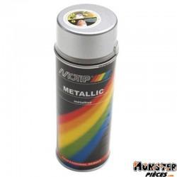 BOMBE DE PEINTURE MOTIP PRO METAL ARGENT spray 400ml (04046)