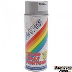 BOMBE DE PEINTURE MOTIP PRO ACRYLIQUE BRILLANT ARGENT spray 400ml (01615)