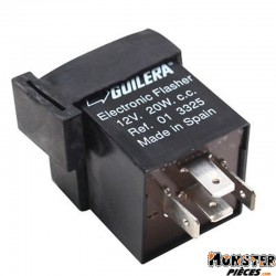 CENTRALE CLIGNOTANT SCOOT ADAPTABLE MBK 50 BOOSTER, EVOLIS-YAMAHA 50 BWS, ZEST (R.O. 01 3325)  -GUILERA-