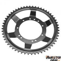 COURONNE CYCLO ADAPTABLE MBK 51 ROUE RAYONS 56 DTS (ALESAGE 94mm)  11 TROUS (NOIR)  -SELECTION P2R-