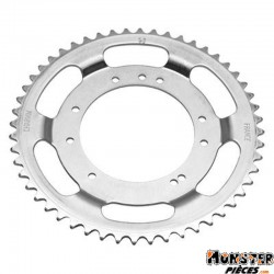 COURONNE CYCLO ADAPTABLE MBK 51 ROUE ALU GRIMECA 52 DTS (ALESAGE 98mm) 10 TROUS  -SELECTION P2R-
