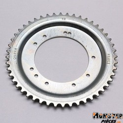 COURONNE CYCLO ADAPTABLE MBK 51 ROUE ALU GRIMECA 48 DTS (ALESAGE 98mm) 10 TROUS  -SELECTION P2R-