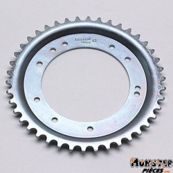 COURONNE CYCLO ADAPTABLE MBK 51 ROUE ALU GRIMECA 42 DTS (ALESAGE 98mm) 10 TROUS  -SELECTION P2R-